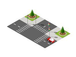 Strada pubblica della strada della strada principale