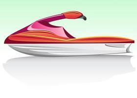 aquabike jet ski vettore