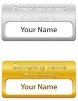 illustrazione vettoriale di carta d'identità
