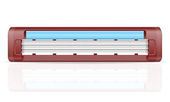 lama per illustrazione vettoriale stock di rasoio