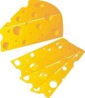 formaggio vettore