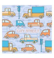 Strada della città vettore
