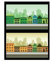 Frammento della città vettore