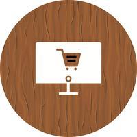 Progettazione dell'icona dello shopping online