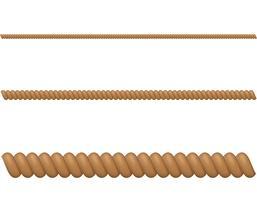 illustrazione vettoriale di corda