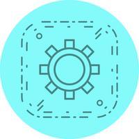 Impostazioni Icon Design vettore