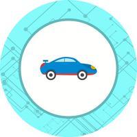 Disegno dell'icona dell'automobile sportiva