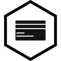 Disegno dell'icona della carta di credito
