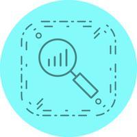 Analisi Icon Design vettore