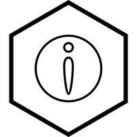 Disegno dell'icona di informazioni