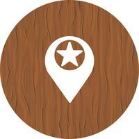 Posizione stellata Icon Design