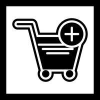 Aggiungi al carrello Icon Design vettore