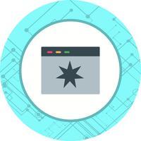 Disegno dell'icona di qualità della pagina vettore