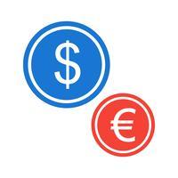 Disegno dell'icona di valute