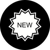 Nuovo design di icone vettore