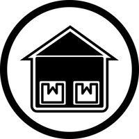 Disegno dell'icona dell'unità di archiviazione