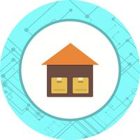 Disegno dell'icona dell'unità di archiviazione vettore