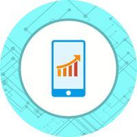 Design dell'icona del mobile marketing vettore
