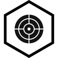 design dell'icona di destinazione