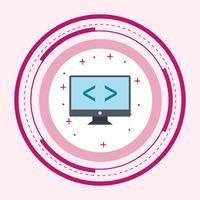 Ottimizzazione del codice Icona Design vettore