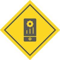 Design dell'icona del mobile marketing