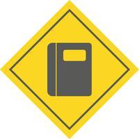 Disegno dell'icona del taccuino vettore