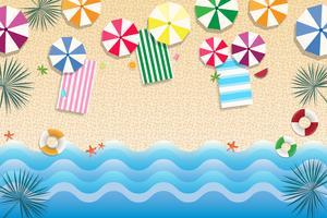 Bandiera e priorità bassa di vendita di estate vettore