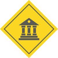 Istituto di formazione Icon Design vettore