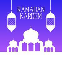Sfondo di Ramadan Kareem vettore
