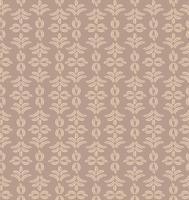 Motivo floreale delle mattonelle Broccato ornamento retrò. Sfondo di foglie fiorite