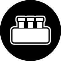 Chimica Set Icon Design vettore