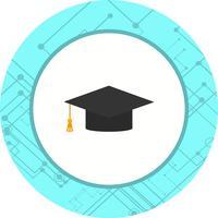 Grad Design Cap Icon vettore