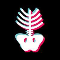 disegno dell'icona dei raggi x