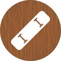 disegno dell'icona di skate board