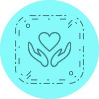 Progettazione dell'icona del segno di salute