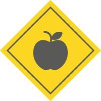 disegno dell'icona della mela