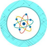 disegno dell'icona dell'atomo