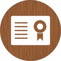 Certificato Icon Design