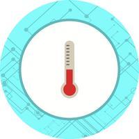 Termometro Icon Design vettore