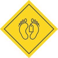 disegno dell'icona tag punta
