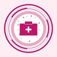 Disegno dell'icona del primo soccorso