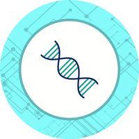 Disegno dell'icona di genetica vettore