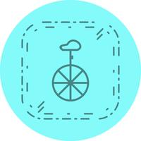 Disegno dell'icona del monociclo