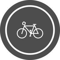 Disegno dell'icona della bicicletta