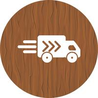 Progettazione dell'icona del camion di consegna