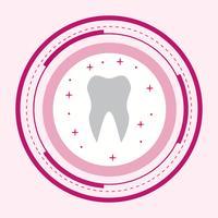 Disegno dell'icona del dente