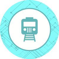 treno icona design vettore