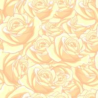 Modello senza cuciture rosa, modello senza cuciture del fiore, modello senza cuciture floreale di vettore