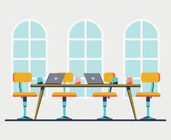 Illustrazione dell'ufficio