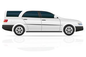 illustrazione vettoriale di auto touring
